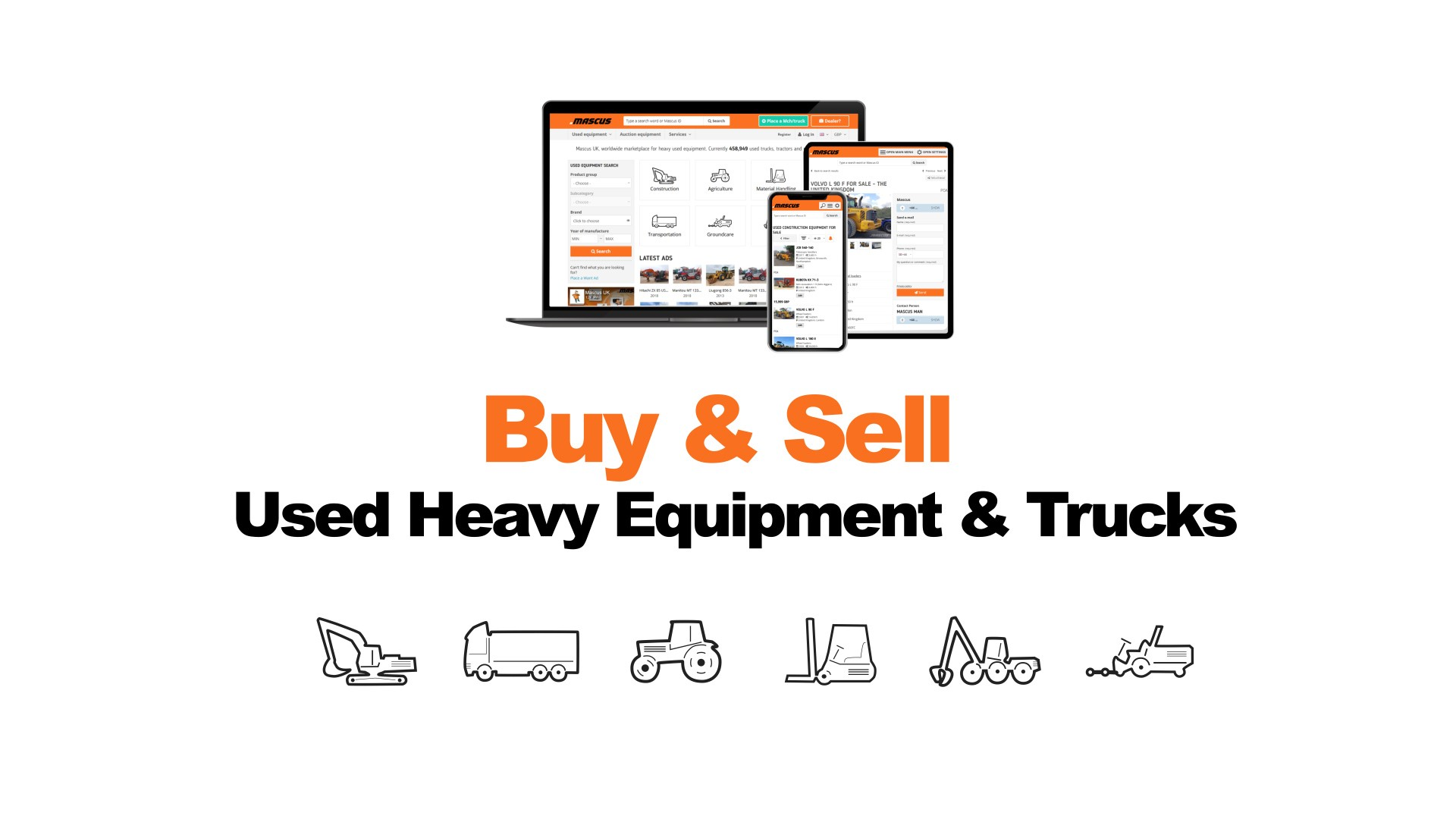 Mascus – Buy & Sell Used Heavy Equipment & Trucks